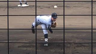 【145キロ右腕】東海大相模 遠藤成(3年)キレのあるボールで三振を奪う 打っては高校通算45本塁打 2019/7/21慶應戦