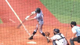 【U18選出】東海大相模 遠藤成(3年)レフトへ技ありタイムリー二塁打 2019/7/27 県相模原戦