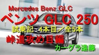 【カーグラ遠藤】第53回 ベンツGLC 試乗記(4/5 峠道攻め目編)【Merceds Benz GLC250 Sports(メルセデスベンツ GLC250 スポーツ)】