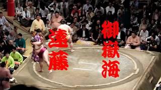 【大相撲 五月場所】遠藤VS御嶽海 #SUMO