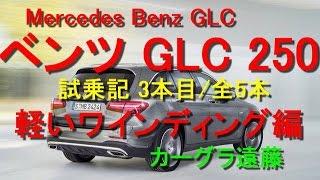 【カーグラ遠藤】第52回 ベンツ GLC 試乗記(3/5 軽いワインディング編)【Merceds Benz GLC250 Sports(メルセデスベンツ GLC250 スポーツ)】